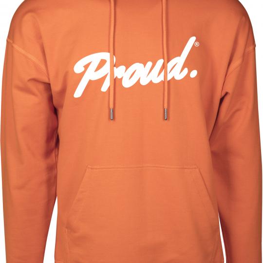 Hoodie Voorkant Product Rust Orange