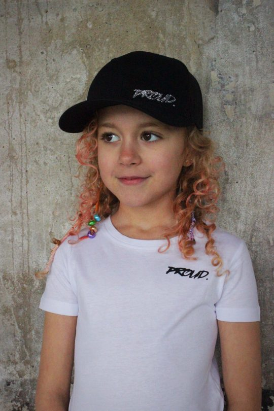 PROUD. KIDS 'GLITTER TRUCKER' BLACK