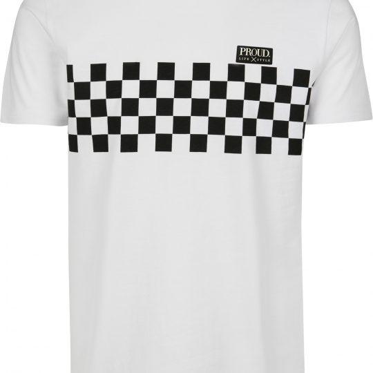 PROUD. Chess T-Shirt White