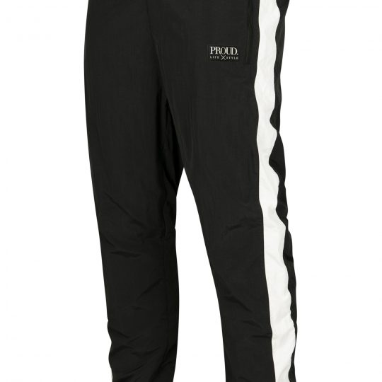 PROUD. Striped Crinkle Track Pants