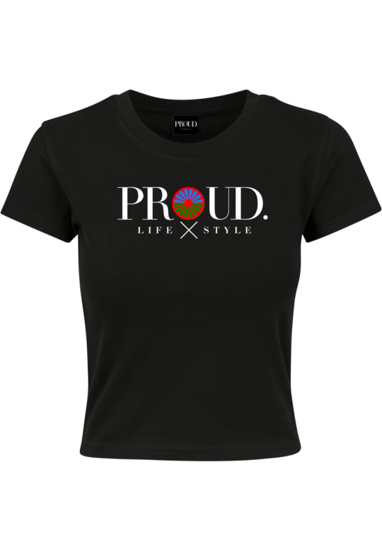 PROUD.ROOTS CROPPED TEE WIEL