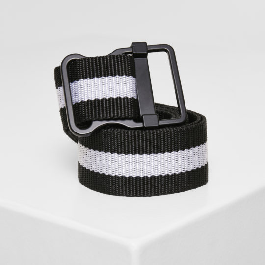 PROUD.LIFESTYLE BELT BLACK & WHITE