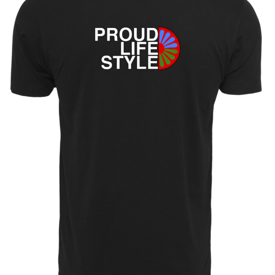 PROUD PIKEY MOON T-SHIRT ZWART