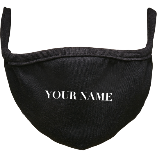 PROUD.LIFESTYLE FACEMASK YOUR'E NAME
