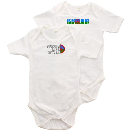 PROUD.ROOTS BABY ROMPER SET